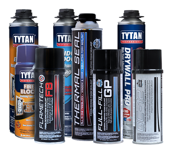Foam Sealants Tytan Foam Sealants Seal Tite Everkem