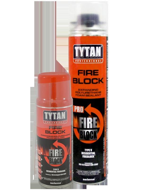 Foam Sealant Tytan Fire Block Foam Sealant Everkem