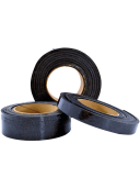 Intumescent wrap strips for firestopping penetrations such as plastic or insulated pipe